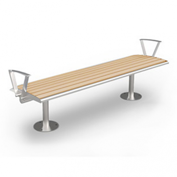commercial park bench