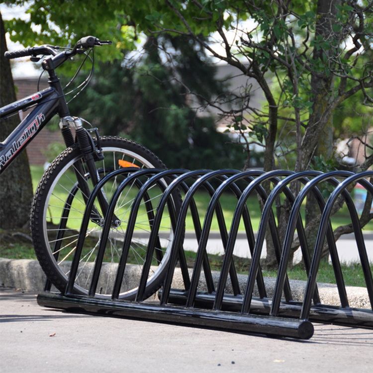 outdoor bike rack