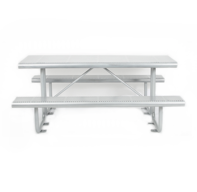 outdoor table picnic metal table