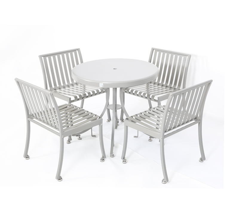 Metal Table Set Cat 050 Canaan