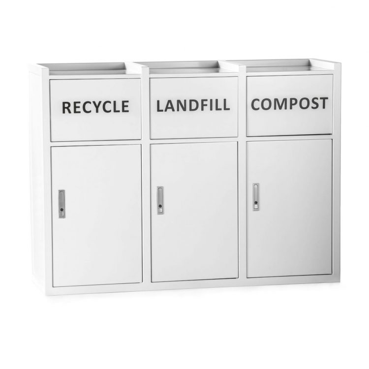 trash bin recycling bin trash can receptacle