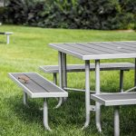 commercial outdoor picnic table