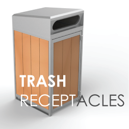 Trash-receptacles