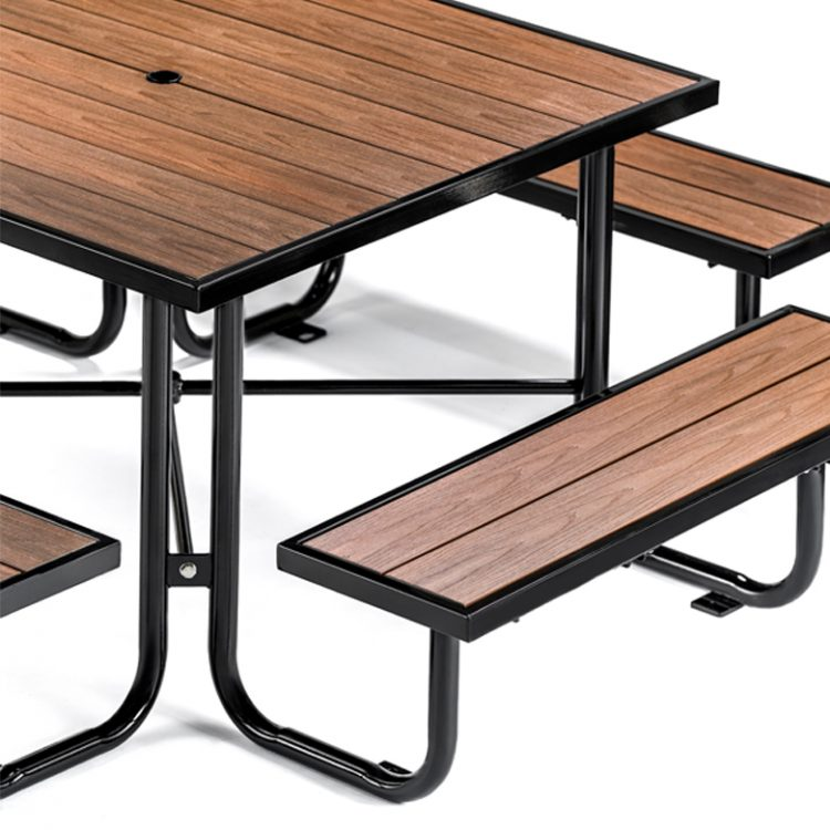 wood composite picnic table