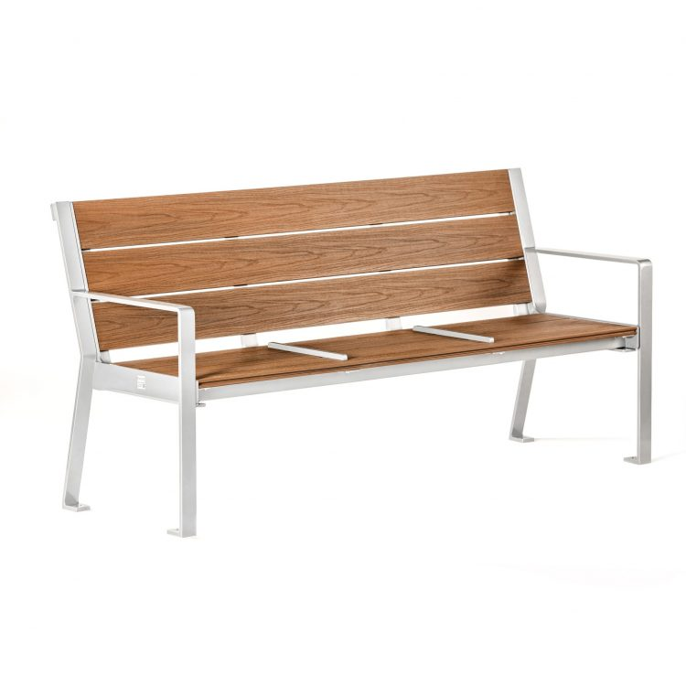 commercial park bench metal bench