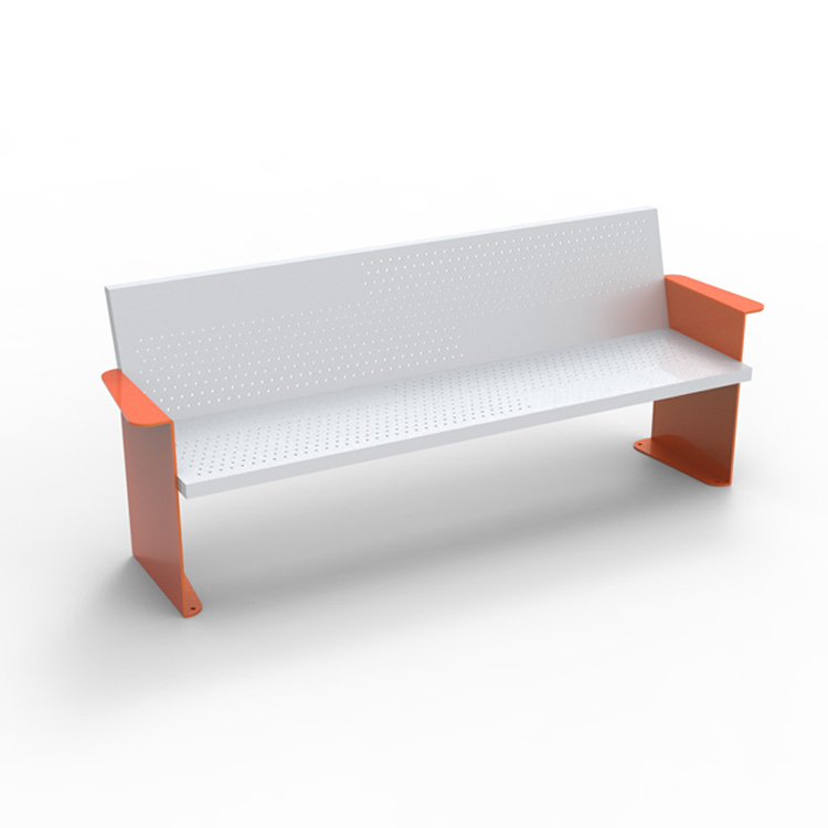 commercial metal park bench